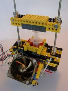 3D Chocolate Printer (made from LEGO)