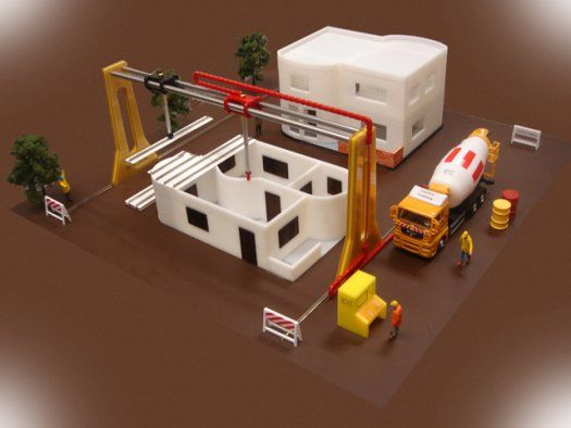 Giant 3-D Printer to Make An Entire House in 20 Hours | Popular Science