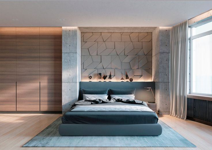 Concrete Wall Designs  30 Striking Bedrooms That Use Concrete Finish  Artfully. 2803 best ideas about Bedroom Designs on Pinterest   Stylish