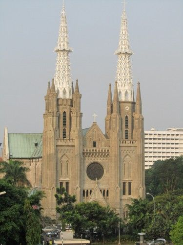 Cathedral Church, Jakarta Indonesia