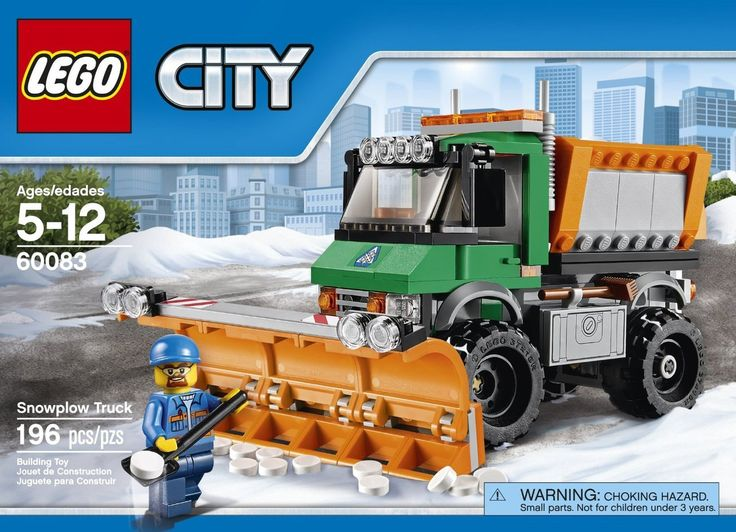 LEGO City Snowplow Truck 60083 - Discount Toys USA