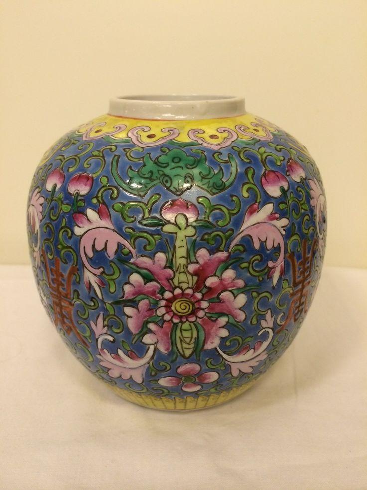 Kinesisk vas via Morfars lada. Click on the image to see more!