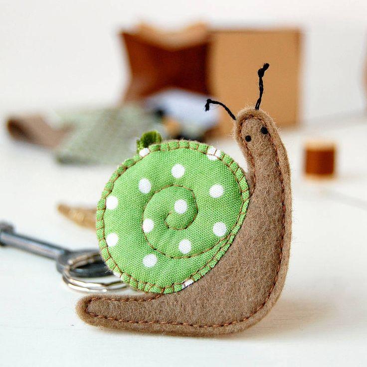 Make Your Own Snail Keyring Craft Kit