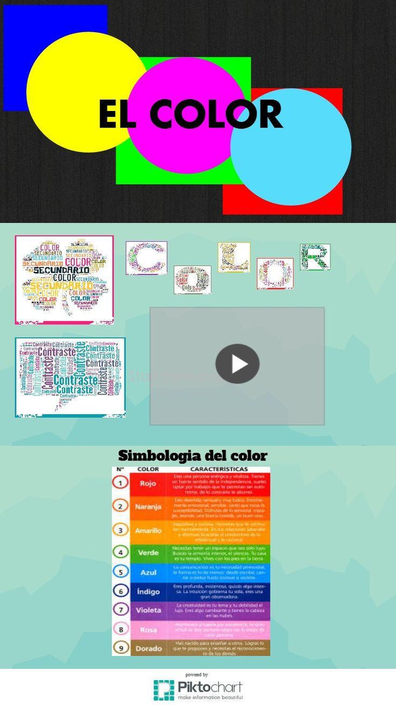 EL COLOR | Piktochart Infographic Editor
