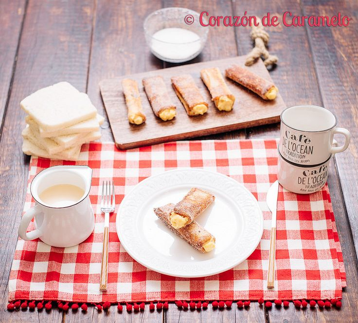 Torrijas Con Crema Pastelera   Receta Tradicional