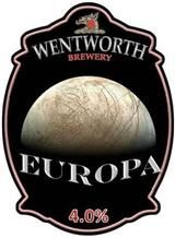 Successful trial of Europa ale last night. Nice.