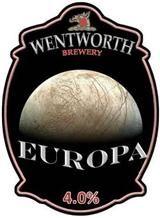 Successful trial of Europa ale last night. Nice.