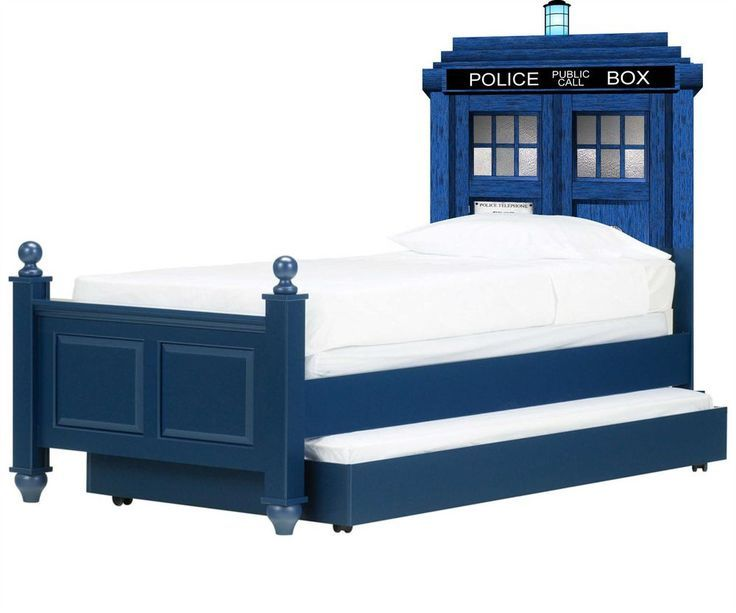 Doctor Who Tardis Headboard Wall Vinyl Repositionable Decal Sticker Graphic-Gift