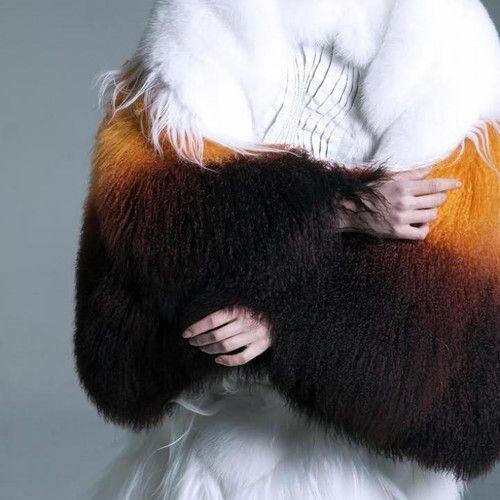 10 zorros para hacer un abrigo. Cuando la moda realmente incomoda