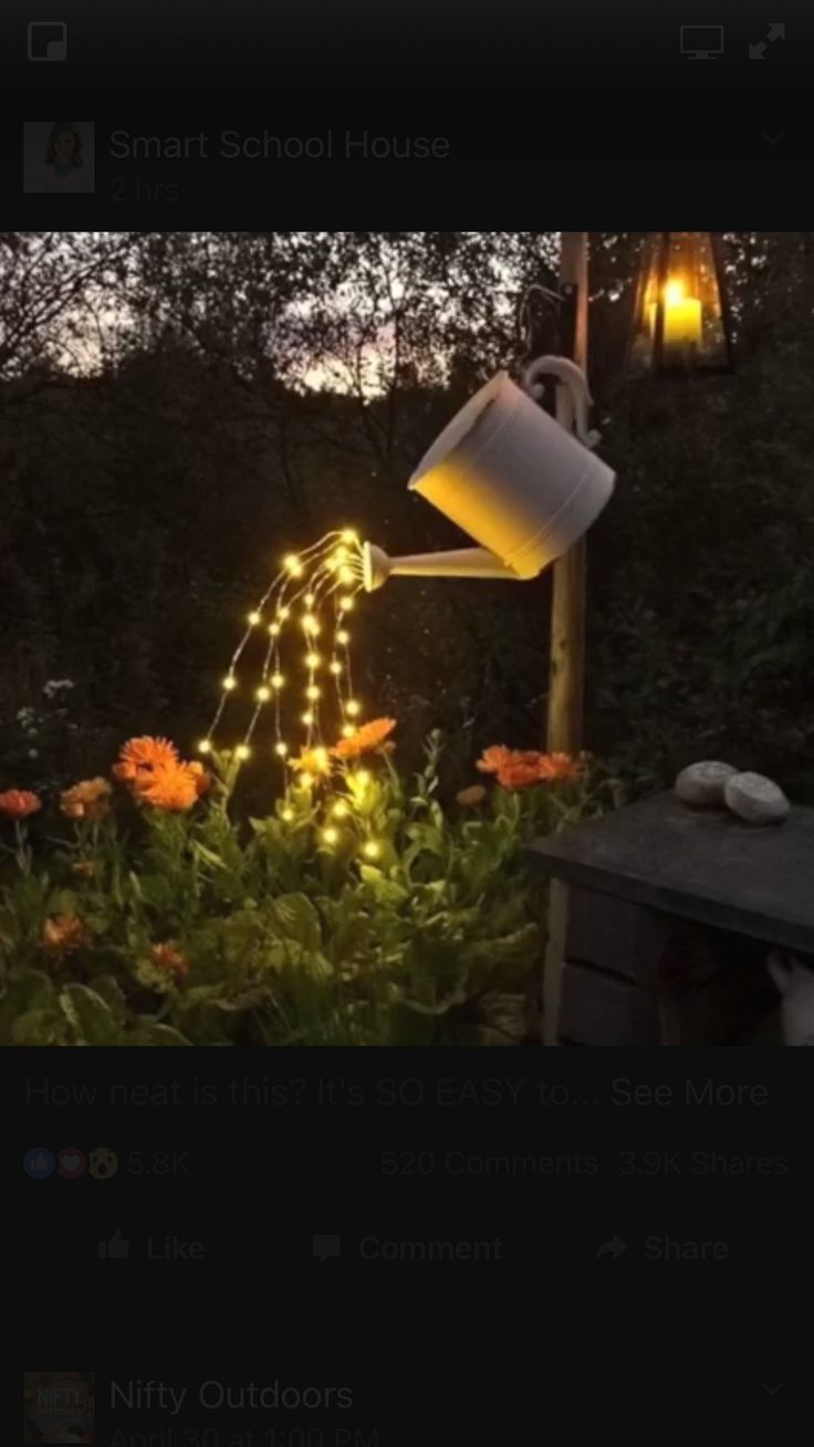 Watering Can Quot Pouring Lights Quot Have To Make This