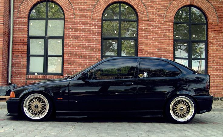 Bmw e36 compact on OEM bmw styling 5 (bbs rc) wheels