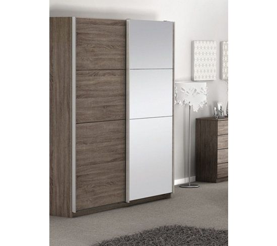 armoire porte coulissante miroir ikea valdiz. Black Bedroom Furniture Sets. Home Design Ideas
