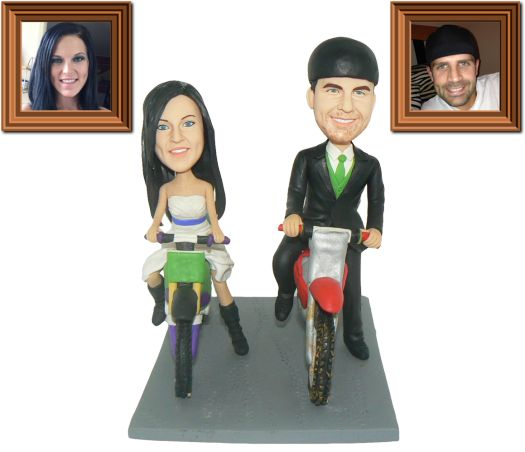 giveaway personalized cake toppers made from your photo