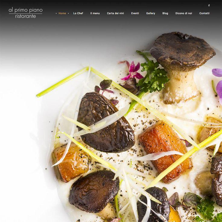 Online il nuovo sito del ristorante Al Primo Piano di Foggia. www.ristorantealprimopiano.it