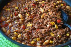 chili con carne-propoints-mustig köttfärsgryta-vitabönor-vvtillsammans-viktväktarna-propoints-mittviktväktarna-recept med propoints