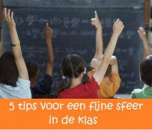 tips voor sfeer in de klas