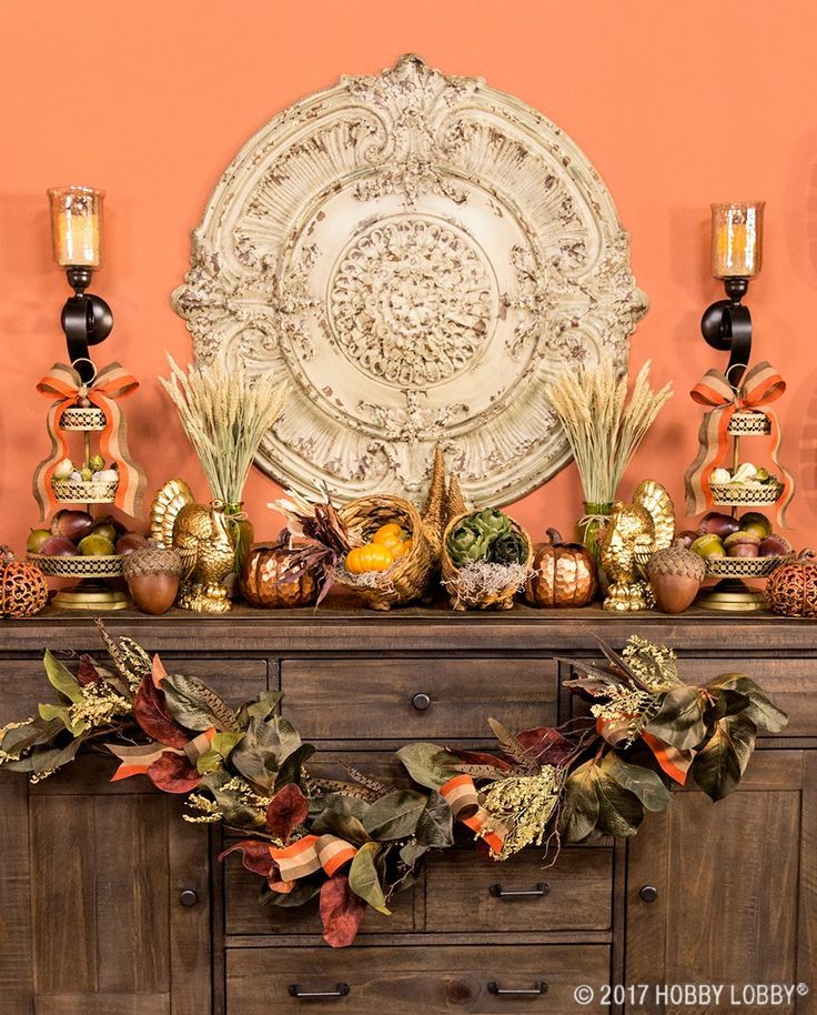 Bästa hobby lobby fall decor idéerna på pinterest