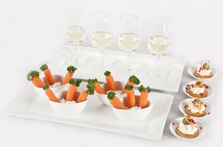 En pequeños bocados puedes servir todo lo que necesitas para una buena fiesta.