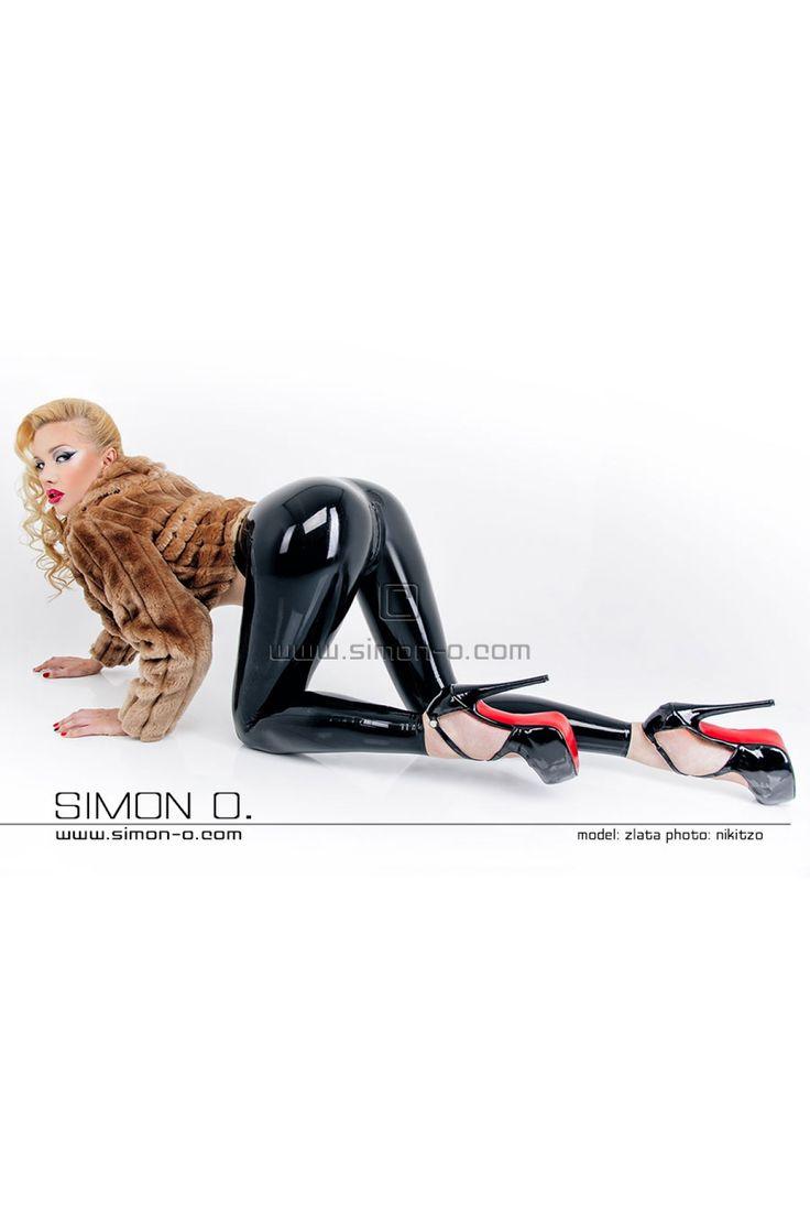 Latex Fashion - Hautenge Latex Leggings - SIMON O.