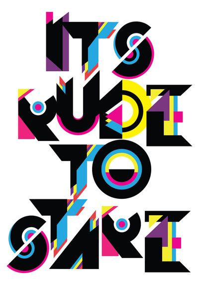 It's Rude To Stare by Andrei D. RobuDesign Inspiration, Fonts Typography, Staring, Funky Typography, Art, Funky Typeface, Graphics Design, Andreirobu, Andrei Robu