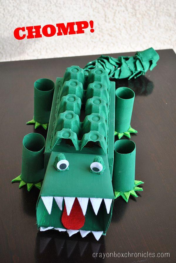 Alligator Affirmation Box – Showing Kids Love