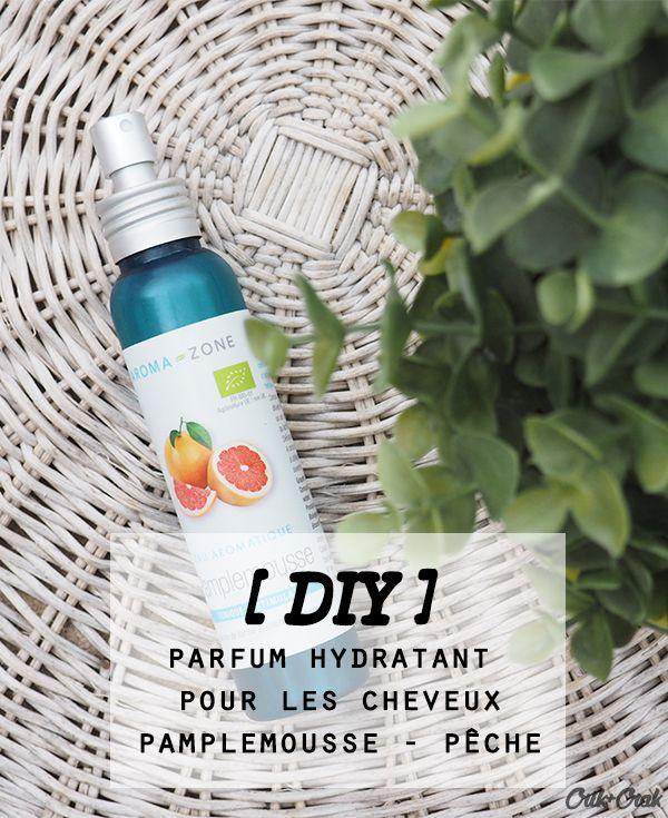 Parfum hydratant pour les cheveux pamplemousse et pêche - Crik+Crak