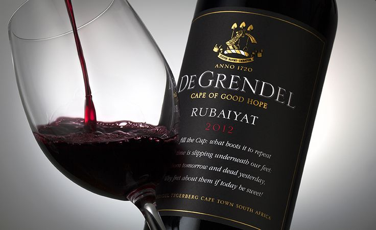 Wine Photography for Marketing & Advertising: De Grendel Wines, South Africa.