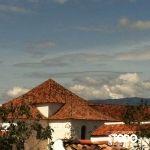 VILLA DE LEYVA , tejados de barro