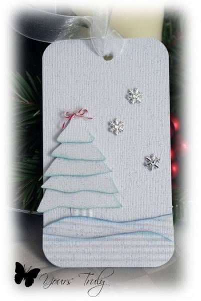 *YT* Christmas tags 5 by YoursTruly - Cards and Paper Crafts at Splitcoaststampers