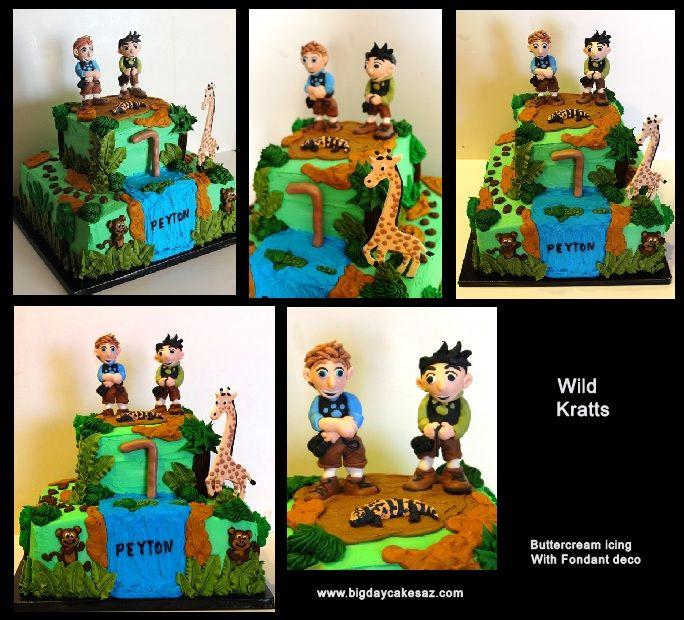 Wild Kratts Birthday Cake Ideas