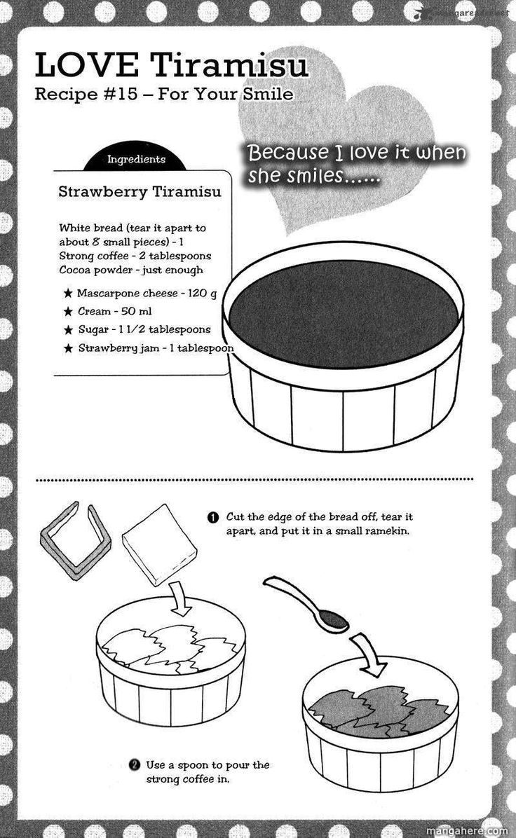 Strawberry Tiramisu recipe part 1 - Hatsukoi Lunch Box by Kodaka Nao