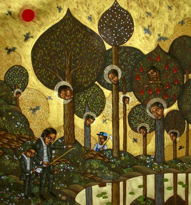 Stelios Faitakis. Contemporary greek artist.