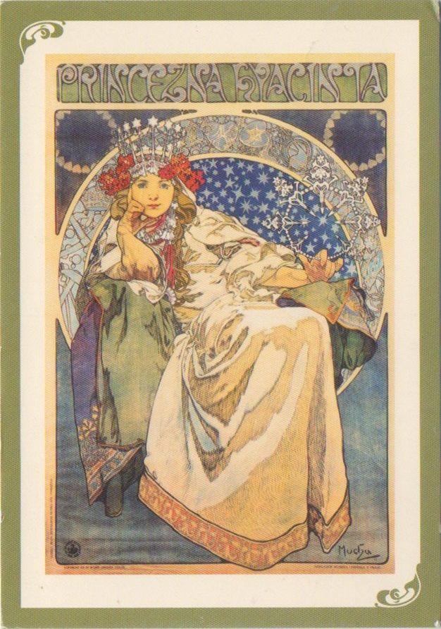 RU-5495614 - Arrived: 2017.03.14.   ---   Alphonse Mucha - Princeza Hyacinta (Street poster art, 1911)