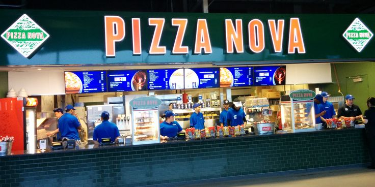 New to Rogers Centre in 2014... Pizza Nova!