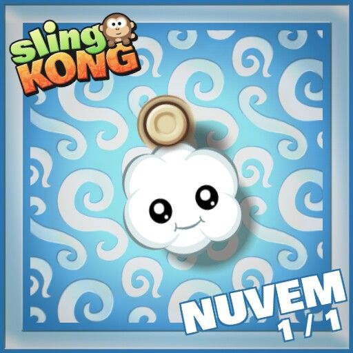 Sling kong cloud rainbow rare Downoals the game in apple store, and in goggle play store
