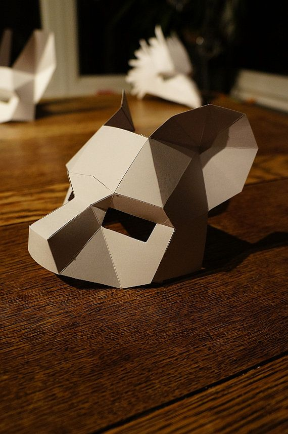 Hey, I found this really awesome Etsy listing at https://www.etsy.com/listing/206852713/make-your-own-bear-mask-from-recycled