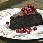 Datolyás csokitorta (liszt- és cukormentesen)