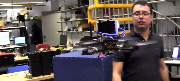 Researchers Plug Google's Project Tango Into A Drone To Let It Fly Itself Around A Room | TechCrunch