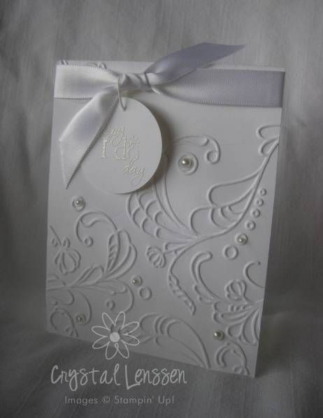 CAS Elegant Wedding Shower by happy2stamp4ever - Cards and Paper Crafts at Splitcoaststampers