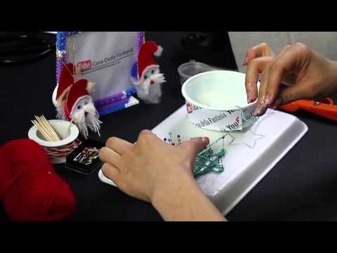 Video Tutorial Hama Beads Pyssla calza di natale Christmas Stocking DIY HD - YouTube