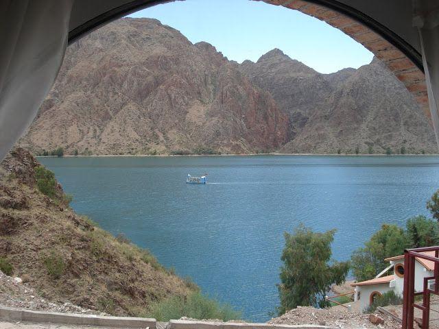 Vista al lago desde la cocina-comedor