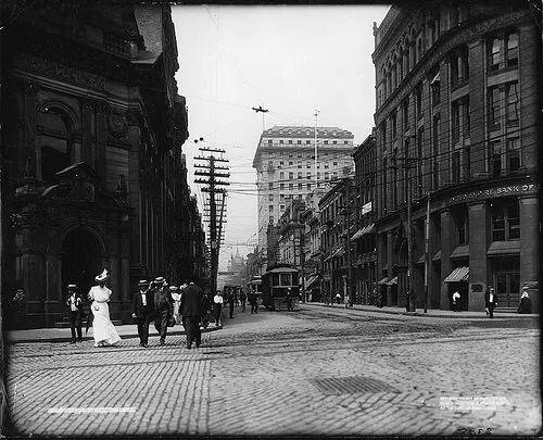 Yonge st. Toronto, Canada c. 1890 - love the cobblestones!
