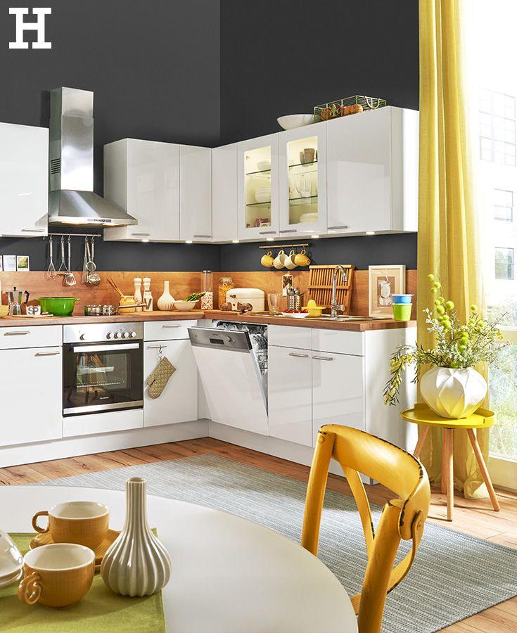 56 best Küche einrichten images on Pinterest Kitchen dining - küche welche farbe