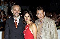 John Malkovich, Chiara Caselli, and Dougray Scott at an event for Ripley's Game (2002)