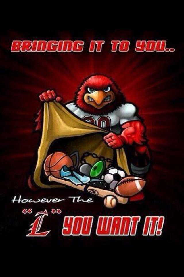 Go Cards! I love this! We are not a one sport university!!!