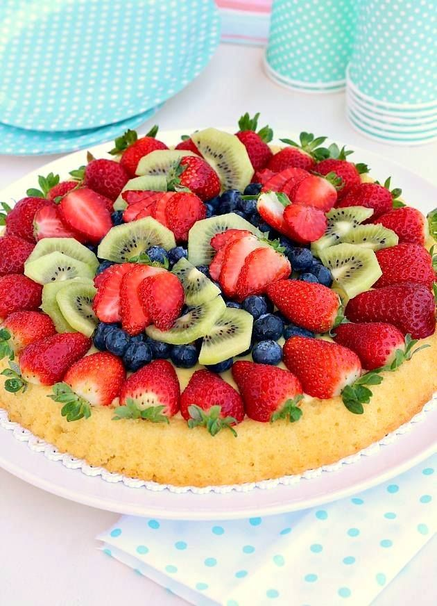 Crostata morbida alla frutta: il dessert di Kiara che conquista cuore e palato. #Ricetta #Estate