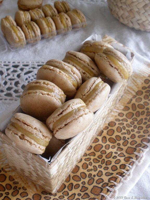 Macarons de noz e ovos moles � portuguesa