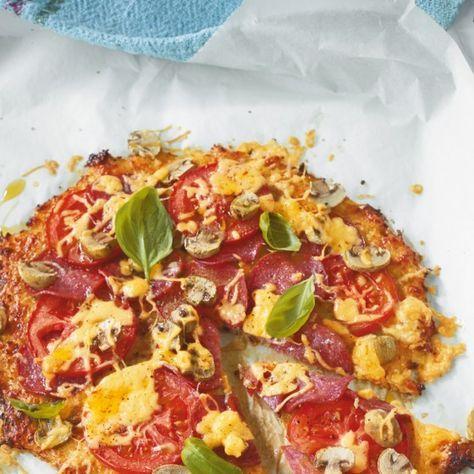 ESSEN & TRINKEN - Blumenkohl-Pizza Rezept
