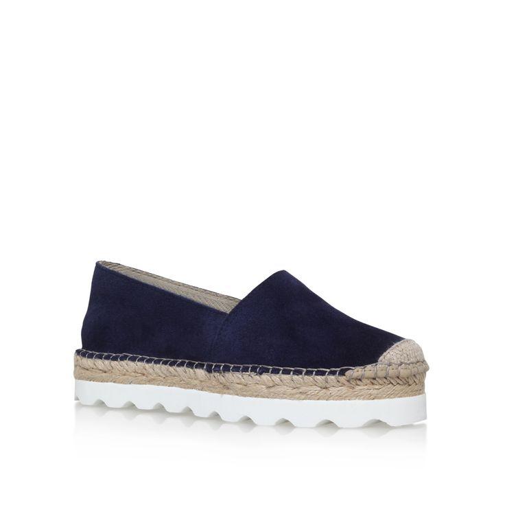lido navy flat espadrille sandals from Carvela Kurt Geiger