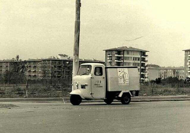 ANKARA 1972 PTT'nin posta dağıtım hizmetlerinde kullandığı tripotör.